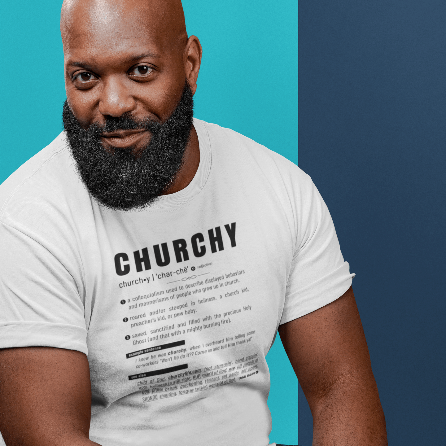 churchy-definition-guy-white-shirt