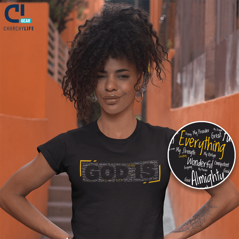 God-is-everything-cloud-girl-black-shirt